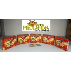 Nr. 5 confezioni PETARDO 1 da 20 pezzi ciascuna